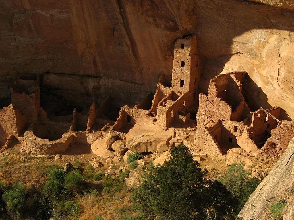 Square Tower House in Mesa Verde National Park. (Ken Lund/Wikimedia Commons/CC-BY-SA-2.0)
