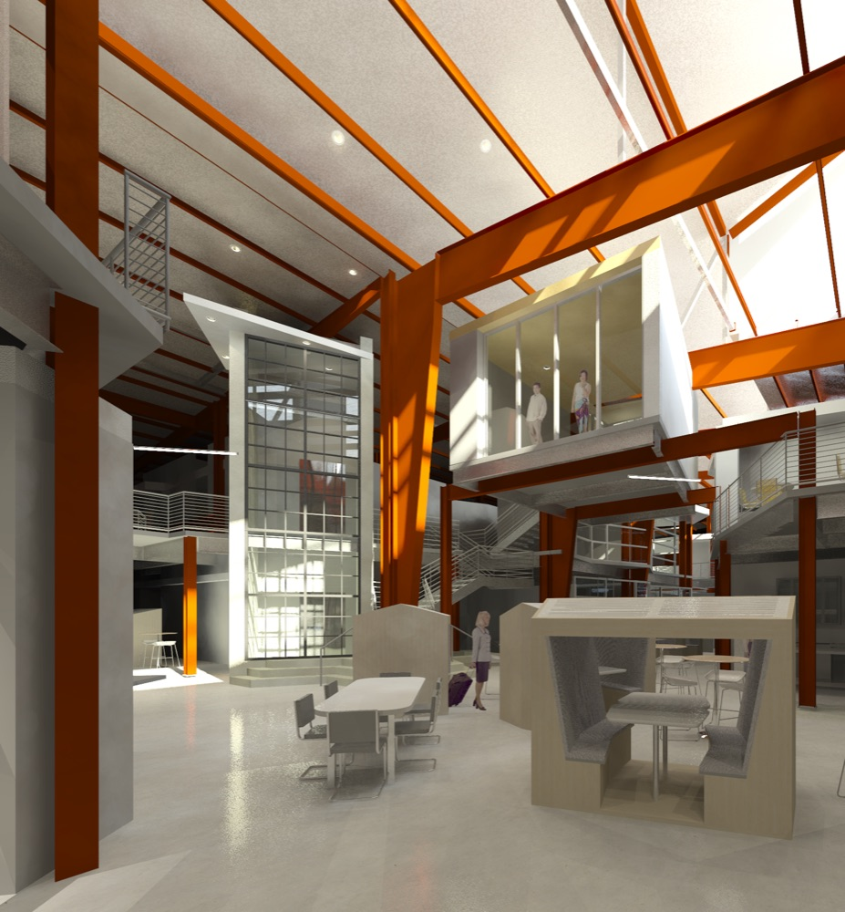 An interior rendering of INDUSTRY at RiNo Station. (Courtesy INDUSTRY)