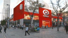 Rendering of a new Target store on the 16th Street Mall. (Courtesy of the city of Denver)