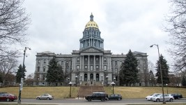 The Colorado State Capitol, March 11, 2017. (Kevin J. Beaty/Denverite)  capitol hill; denver; colorado; kevinjbeaty; denverite; capitol building; gold dome;