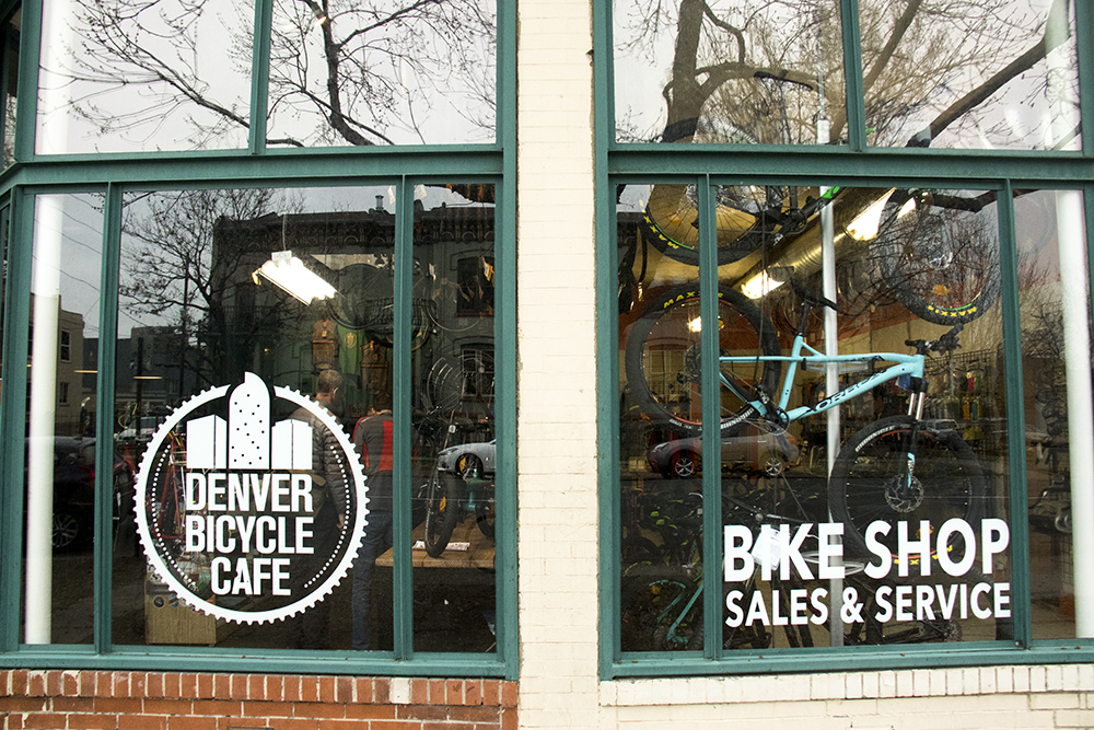 The Denver Bicycle Cafe on 17th Avenue, City Park West. (Kevin J. Beaty/Denverite)