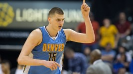 Nikola Jokic had 31 points and 10 rebounds to help Denver beat the Pacers on Thursday. (Trevor Ruszkowski/USA Today Sports)