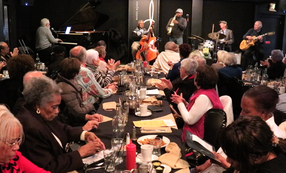 Friday lunch with Purnell Steen at Dazzle Jazz (Kevin J. Beaty/Denverite)