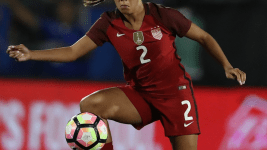 Mallory Pugh will reportedly turn pro. (Matthew Emmons/USA Today Sports)