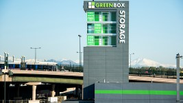 Greenbox Self Storage, 2424 Delgany Street. (Kevin J. Beaty/Denverite)