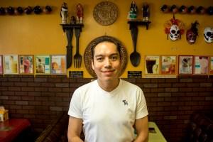 Noe Bermudez in his Athmar Park restaurant, Tarasco. (Kevin J. Beaty/Denverite)  athmar park; food; restaurant; mexican food; denver; colorado; federal boulevard; denverite; kevinjbeaty;