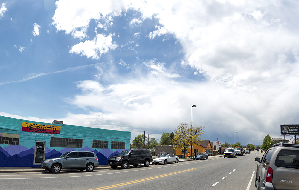 The Re:Vision food co-op in Westwood, May 31, 2017. (Kevin J. Beaty/Denverite)  westwood; denver; colorado; kevinjbeaty; denverite; morrison road;