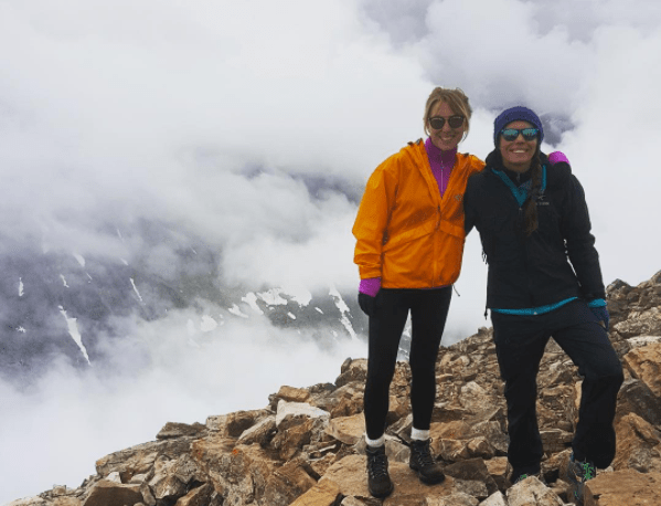 Some hikes, like this one on Quandark Peak, get up into the clouds.