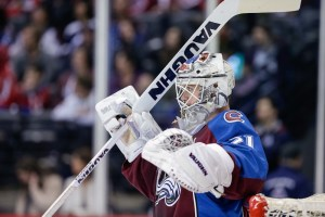 The Las Vegas Golden Knights snatched up Calvin Pickard in the expansion draft. ( Isaiah J. Downing/USA Today Sports)