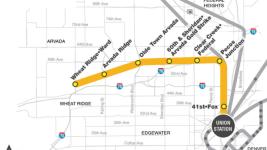 RTD's G Line to Arvada and Wheat Ridge. (RTD)