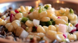 Fresh corn relish by Tocabe American Indian Eatery. (Kevin J. Beaty/Denverite)  food; recipe; kevinjbeaty; denver; colorado; denverite;