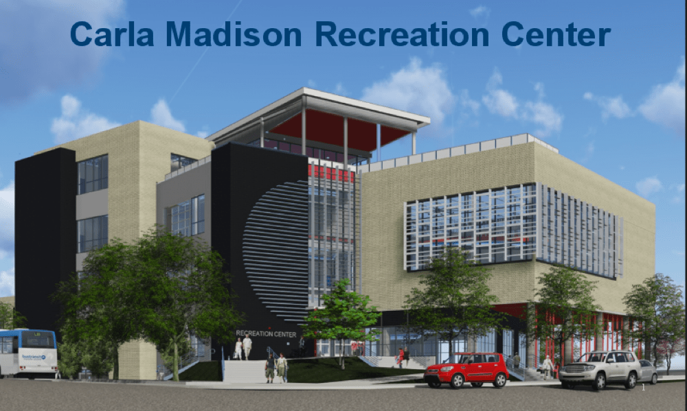 A rendering of the Carla Madison Recreation Center. (Courtesy of the city and county of Denver)