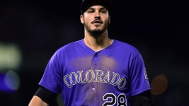 Nolan Arenado has been great. But the Rockies offense as a whole is struggling. (Ron Chenoy/USA Today Sports)