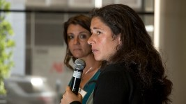 Rebecca Traister speaks at the History Colorado Center, Sept. 14, 2017. (Kevin J. Beaty/Denverite)  denver; colorado; denverite; kevinjbeaty; politics