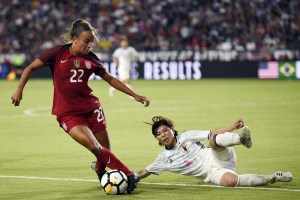 Mallory Pugh decided to turn pro in April. (Gary A. Vaszquez/USA Today  Sports)