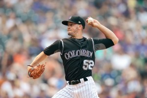 Chris Rusin has a 2.33 ERA this season. (Isaiah J. Downing/USA Today Sports)