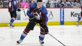 Matt Duchene was in attendance Thursday at Avalanche media day. (Isaiah J. Downing/USA Today Sports)