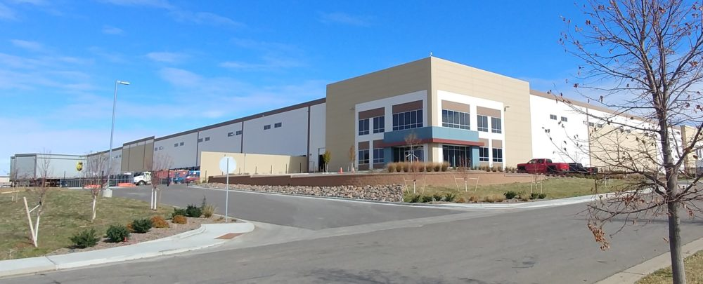 The site where UPS is planning its new package distribution facility within Aurora's East Park 70 industrial business park. (Courtesy of UPS)