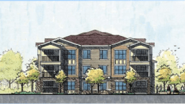 Rendering of housing unit at East Range Crossing (City of Denver)