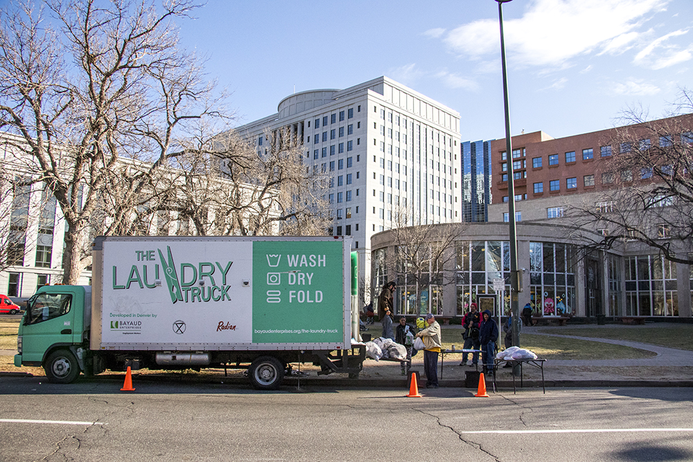 Denver S Laundry Truck For The Homeless Has Washed More That