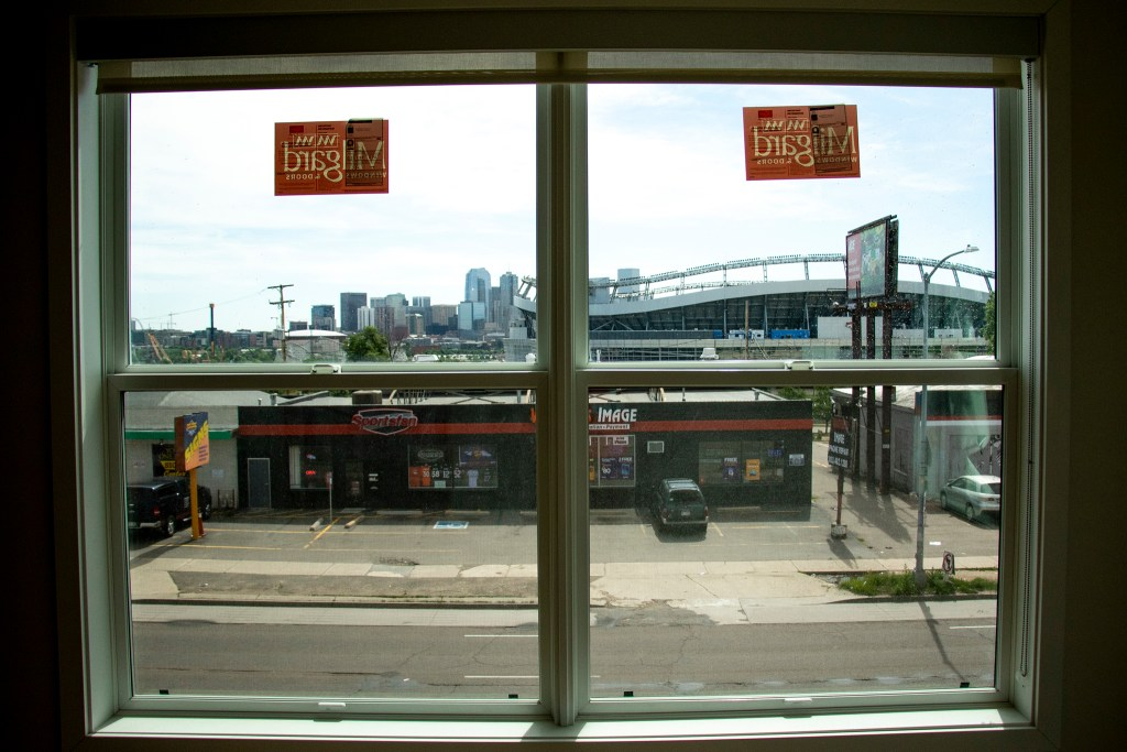 The view from 1775 Federal Blvd., June 25, 2019. (Kevin J. Beaty/Denverite)