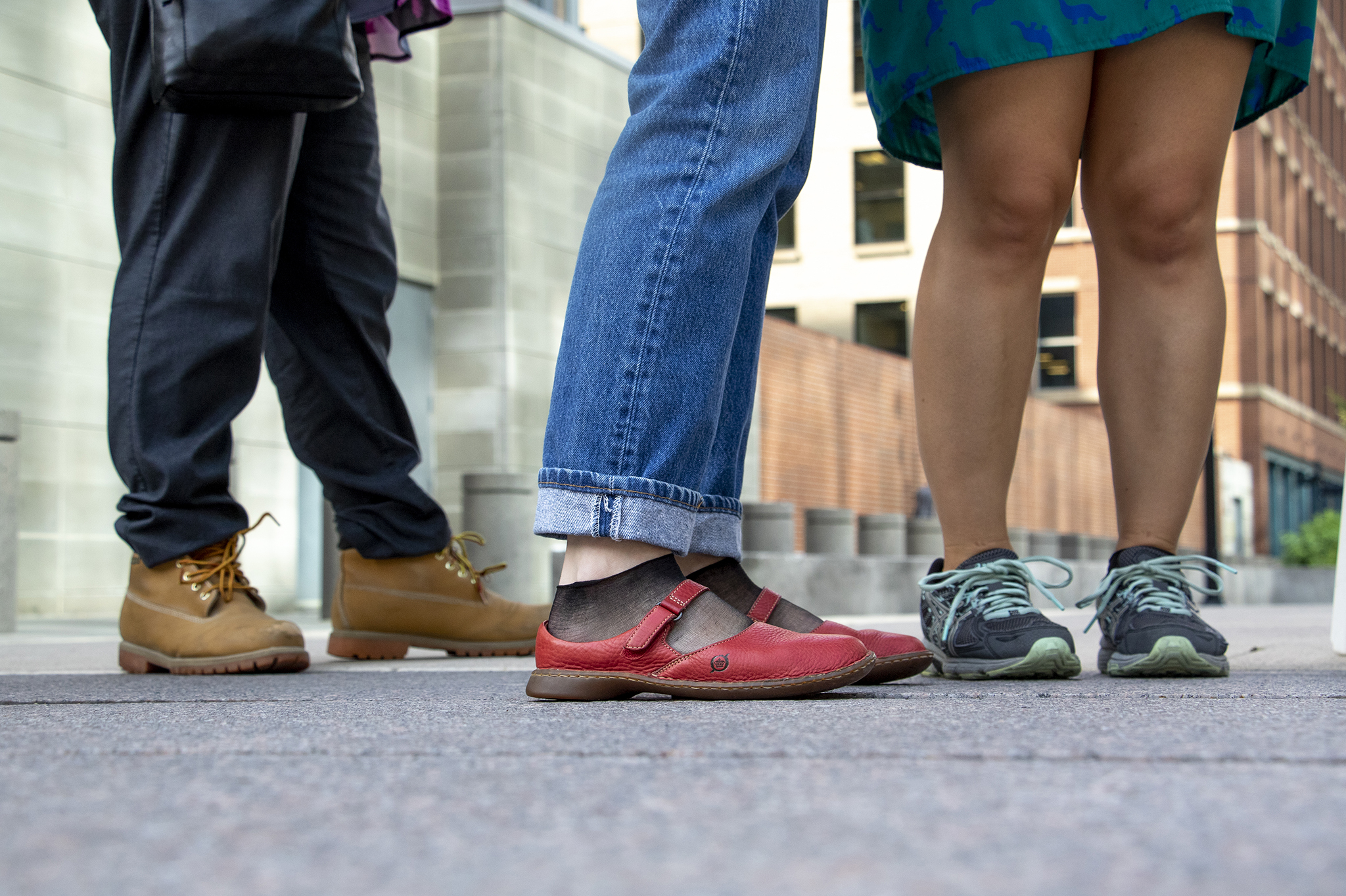 An Empathy Museum exhibit asks you walk in someone else's shoes,