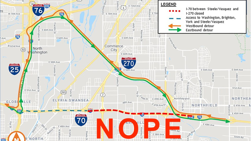 Six miles of I-70 will be fully closed this weekend, so go ... on lincoln way map, interstate 27 map, interstate 26 map, interstate 30 map, interstate map of mississippi and alabama, interstate 85 map, interstate 10 map, interstate 80 map, interstate 422 map, interstate 44 map, interstate 25 map, interstate 526 map, interstate 75 map, new jersey route 1 map, interstate 70 map, interstate highway map, interstate 74 map, us highway 78 map,
