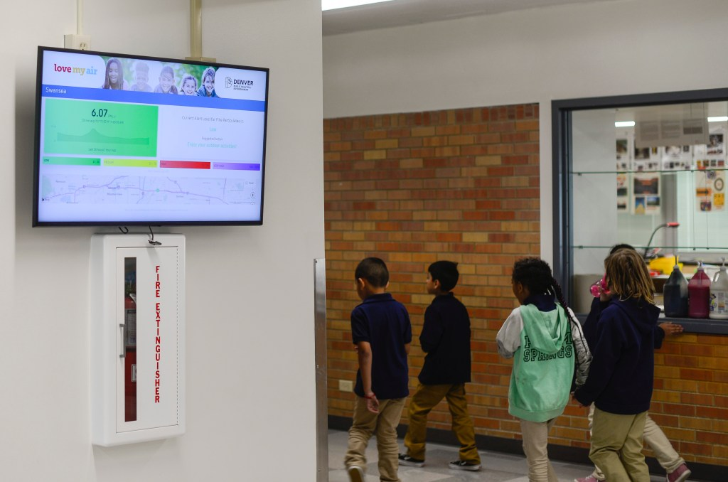Monitors now measure air quality at nine Denver schools to tackle
