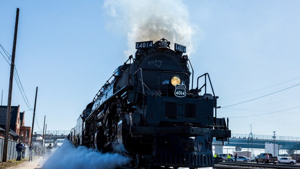 The Big Boy leaves Cheyenne for the first time in May. (Photo courtesy Union Pacific)