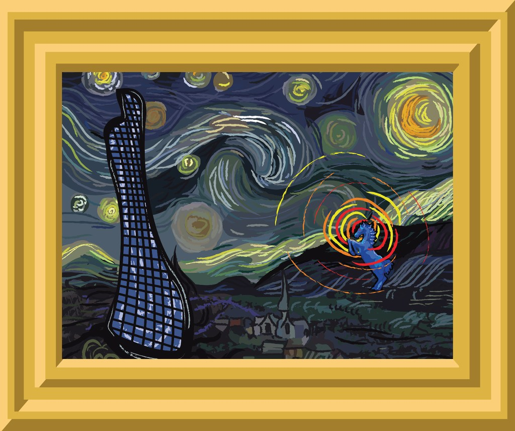 (Vincent van Gogh and Kevin J. Beaty)