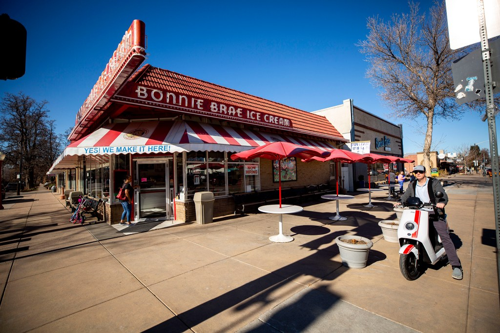 Bonnie Brae Ice Cream, Jan. 25, 2020. (Kevin J. Beaty/Denverite)