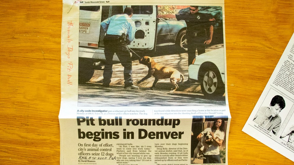 The Rocky Mountain News, May, 10, 2005. (Denver Public Library/Western History Collection/Clippings Files)