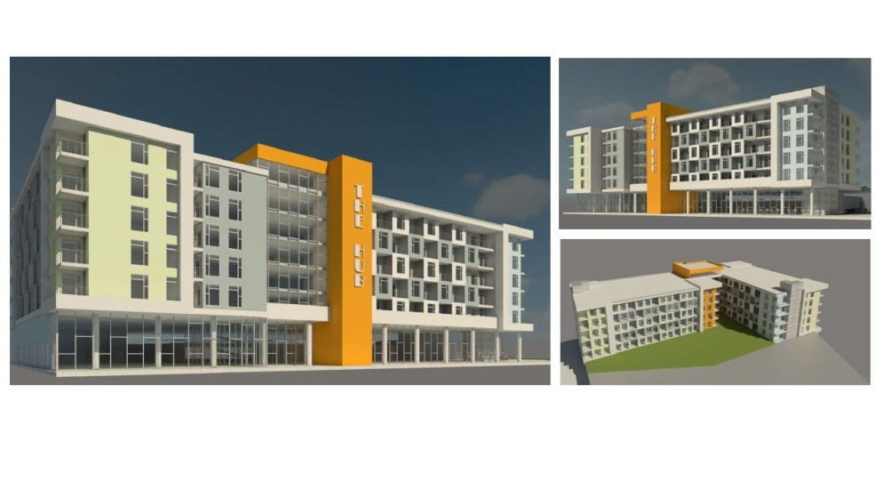 A concept design for the Hub in Montbello. (Courtesy of Montbello Organizing Committee)