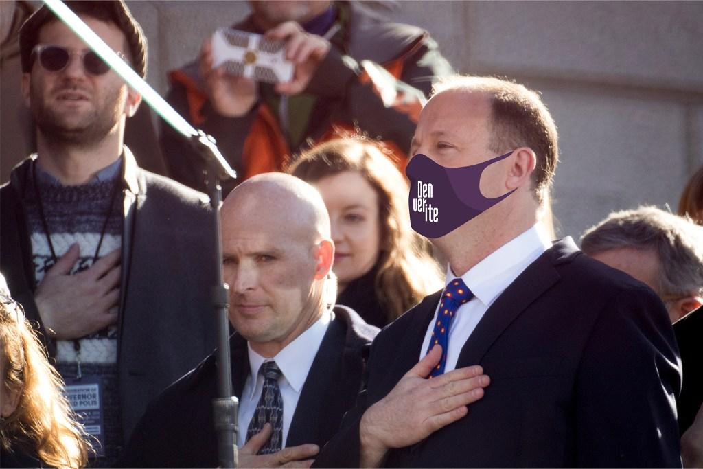 Here's an aspirational face mask. (Kevin J. Beaty/Denverite)