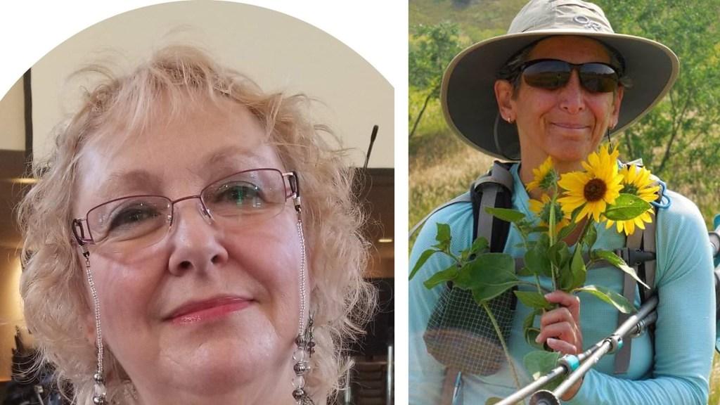 Joy Urbach and Ellen Ritt Johnson. (Courtesy)