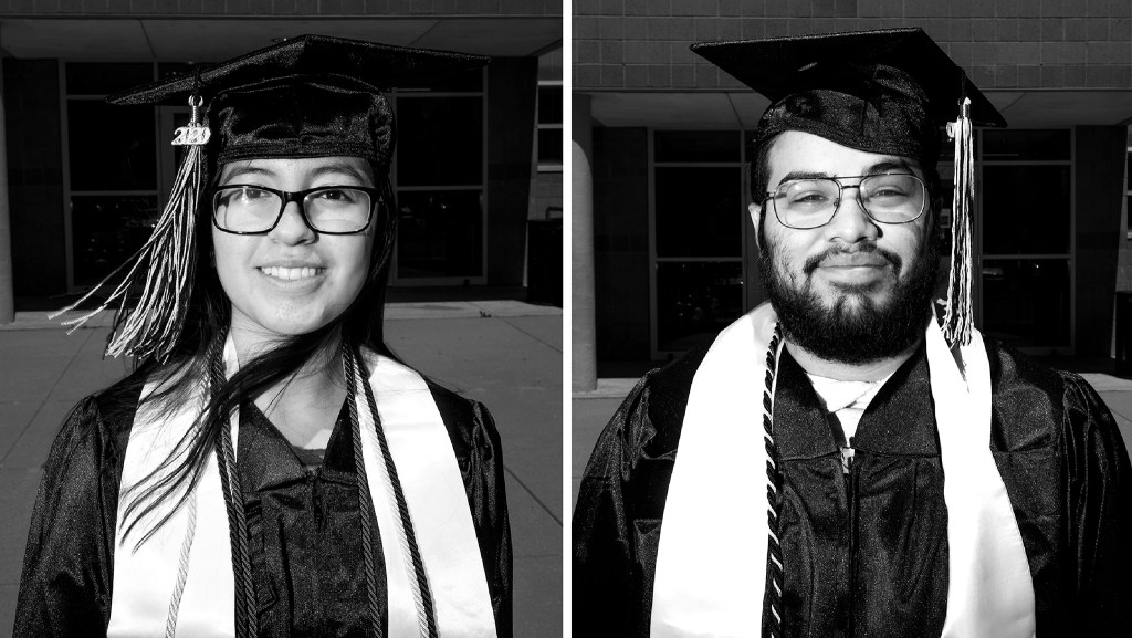 Valeria Villicana and Efrain Rodriguez. (Kevin J. Beaty/Denverite)