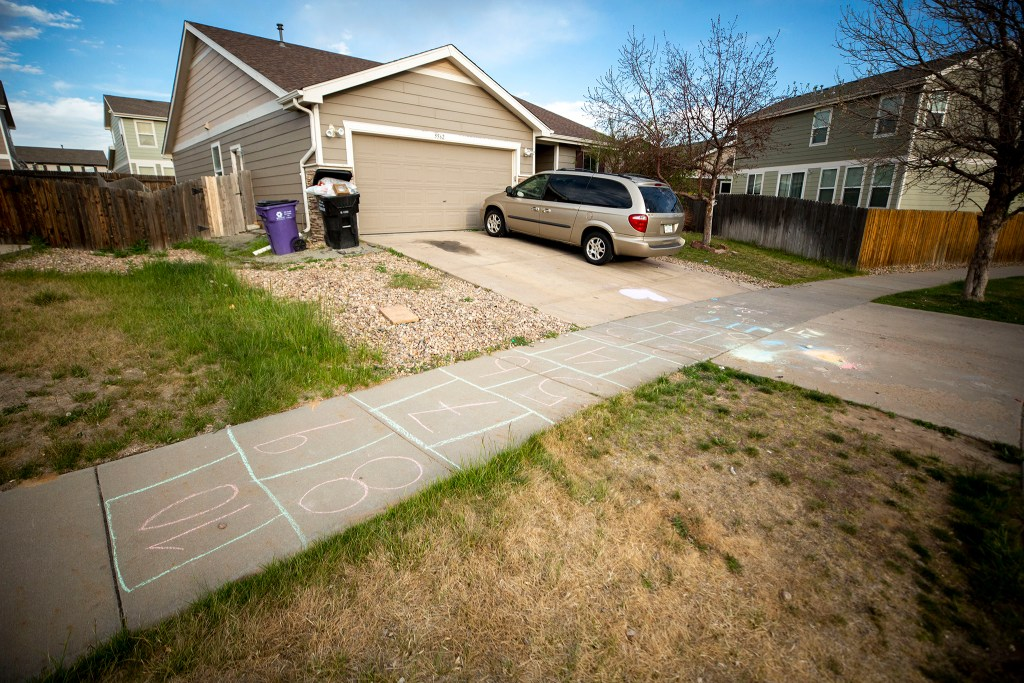 David and Dina Puente's home in Montbello. May 13, 2020. (Kevin J. Beaty/Denverite)