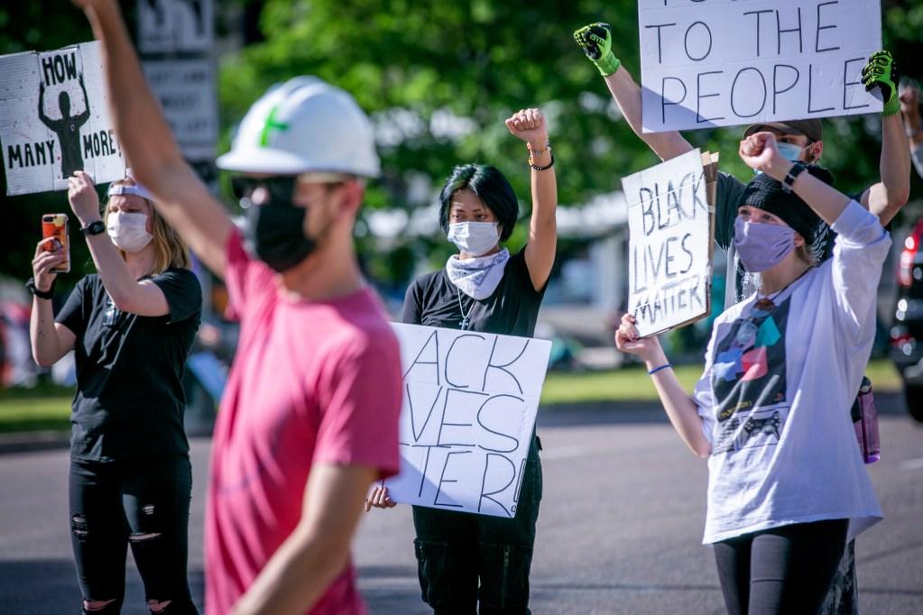Protest Racism Police Brutality Denver June 10