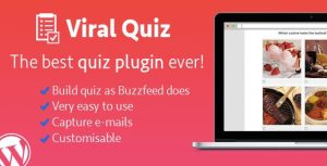 Viral Quiz 3.16 – конструктор квиз форм для WordPress