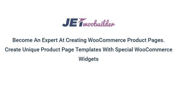 JetWooBuilder 1.1.1 – конструктор страниц WooCommerce для Elementor