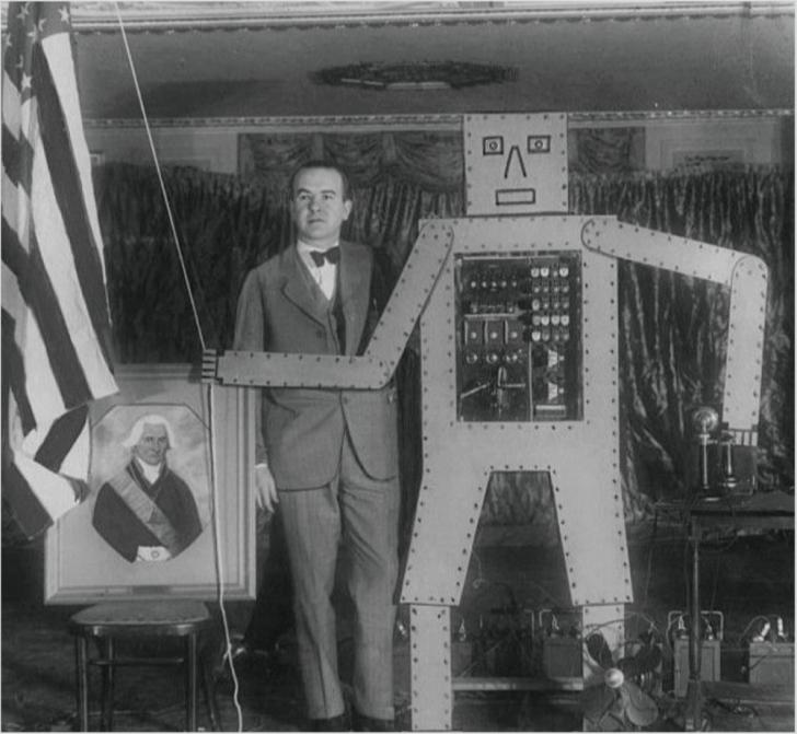 世界初のヒューマノイド Eric・エリック