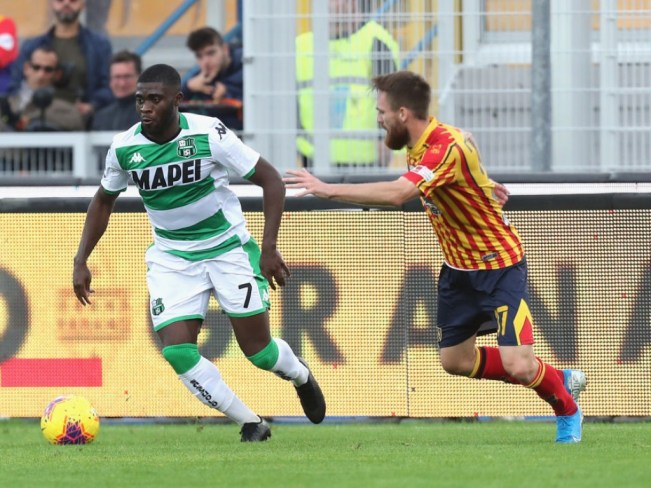 Image result for photos of lecce vs sassuolo""