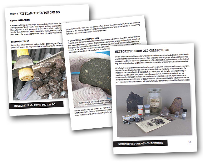 Have You Found a Meteorite? - Aerolite Meteorites