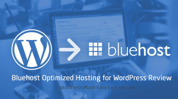 Bluehost optimized hosting for wordpress review