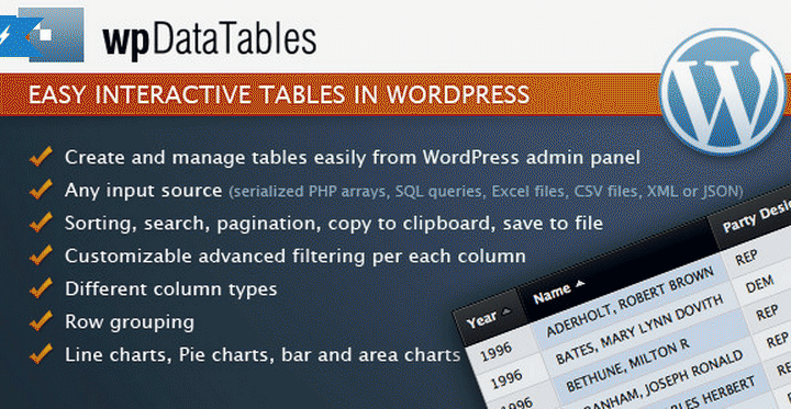 add Tables to WordPress Posts - wpDataTables