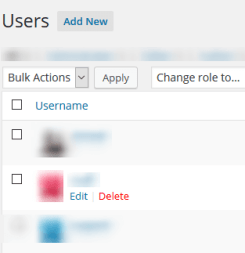 Delete old Admin account - Change WordPress Admin Username from Admin Area