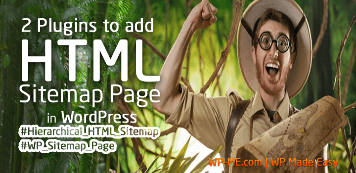 How to Add HTML SiteMap Page in WordPress in less than Min?