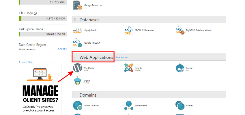 cPanel - Web Applications