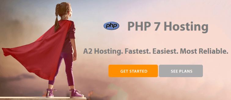 PHP 7 WordPress Hosting from A2 Hosting