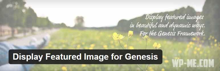 Display Featured Image for Genesis WordPress plugin